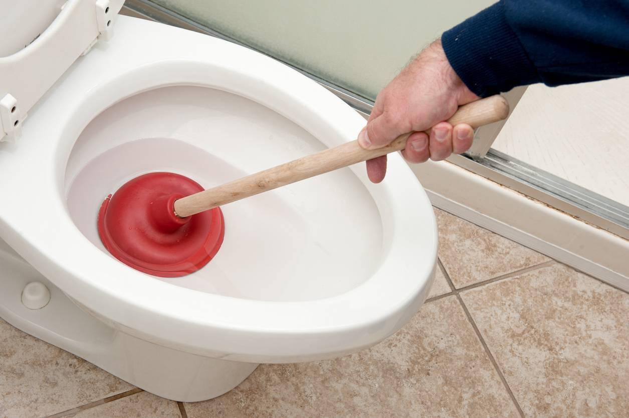 WC bouché